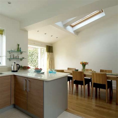 Kitchen Diner Extension Ideas Airy Kitchen Diner Kitchen Design Decorating Ideas Housetohome Co Uk