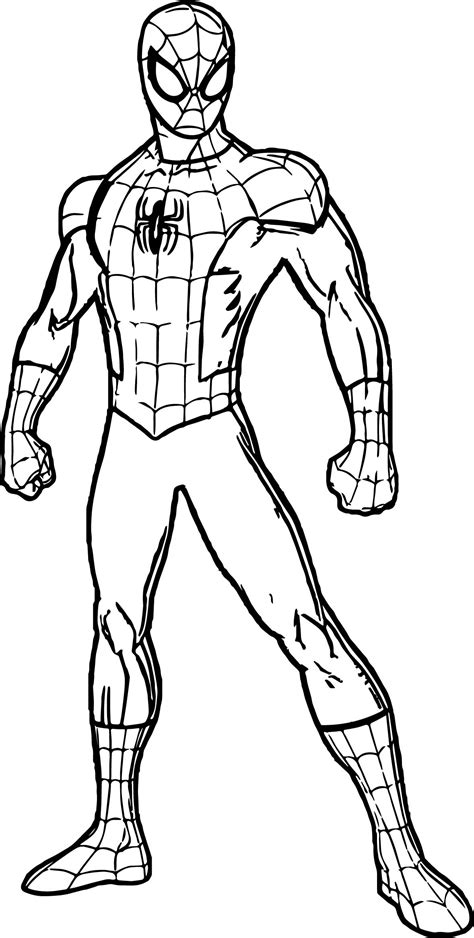 spiderman coloring toreto co