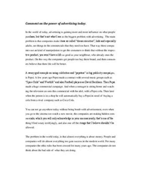 Muster Charakterisierung Englisch Kommentar Schreiben Beispiel Schulhilfe De