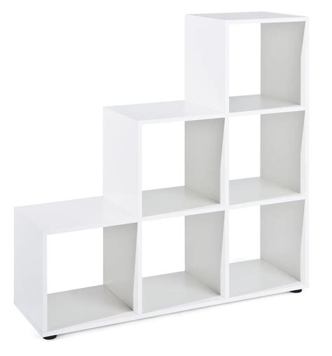 etagere 6 cases 201 tag 232 re de s 233 paration 6 cases blanche alto lestendances fr