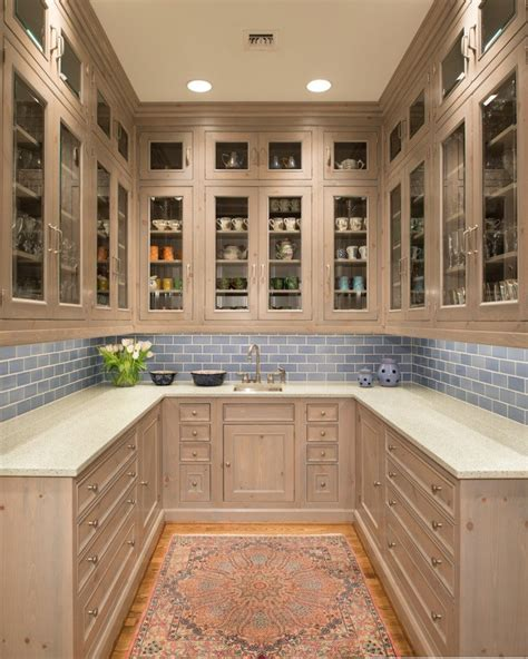 Pantry Lighting Options by Butler Pantry Ideas Kitchen Traditional With Recessed