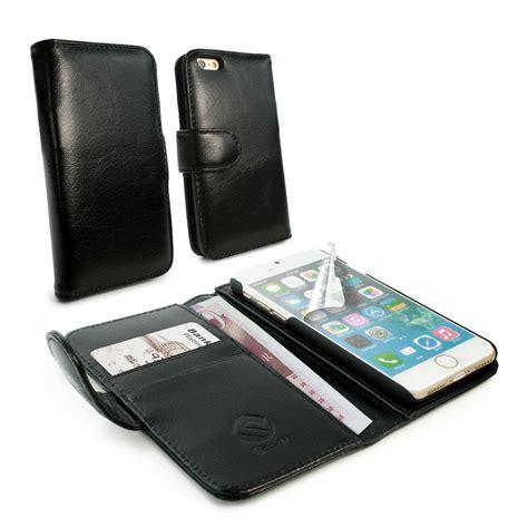 Leather Black Iphone 7 apple iphone 7 leather tuff black