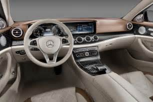 2016 mercedes e class interior revealed