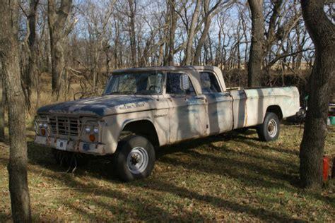 64 Dodge Power Wagon by 1964 Dodge Power Wagon Crew Cab W200 4x4 190 Ton For