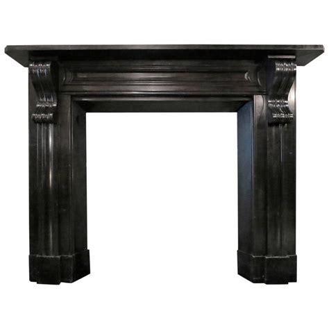 Marble Fireplace Mantels For Sale by Antique Early 19th Century Black Marble Fireplace Mantel For Sale At 1stdibs