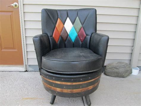 whiskey barrel chairs amazing 1950s whiskey barrel chair foley wildlife
