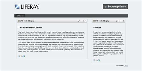 liferay layout bootstrap building responsive layouts in liferay with twitter