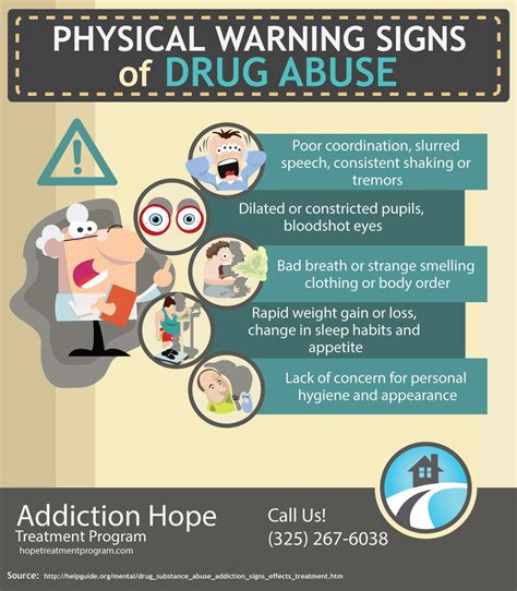 Signs Of Detox From Pills by Physical Warning Signs Of Abuse Addiction