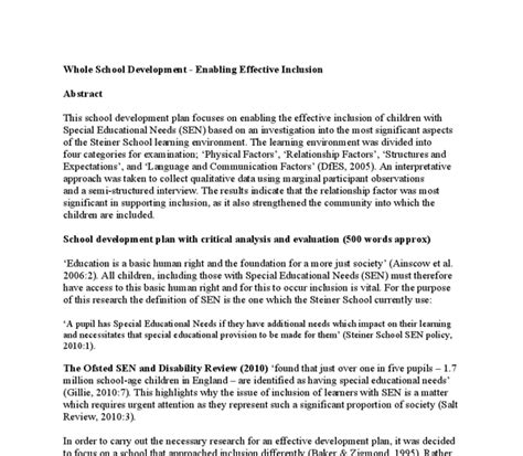 Inclusion Essay by Whole School Development Enabling Effective Inclusion Essay Ghostwriterbooks X Fc2