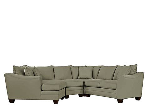 green microfiber sectional foresthill 4 pc microfiber sectional sofa olive green