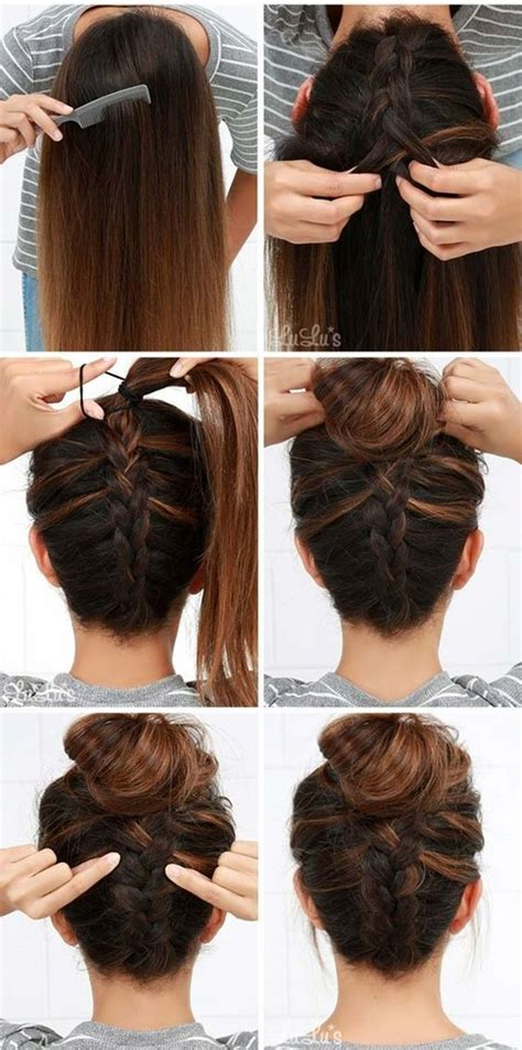 40 easy step by step hairstyles for girls