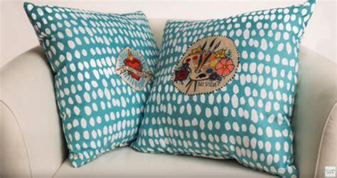 no sew tie dye pillows favecrafts