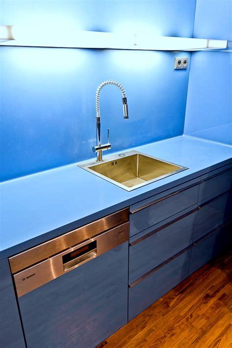 Blue Corian Countertops Modr 225 Kuchynsk 225 Pracovn 225 Doska A Drez Corian Blue Powder
