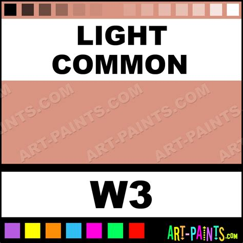 Common The Light by Light Common Camouflage Makeup Paints W3