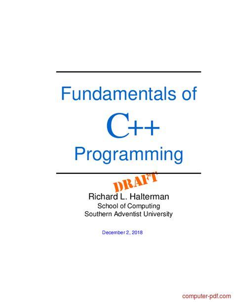 fundamentals   programming  tutorial