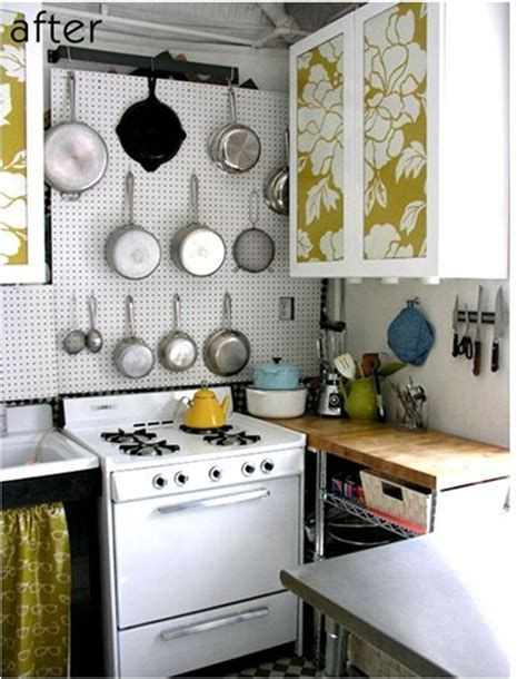 removable wallpaper for kitchen cabinets solutions for renters kitchens centsational