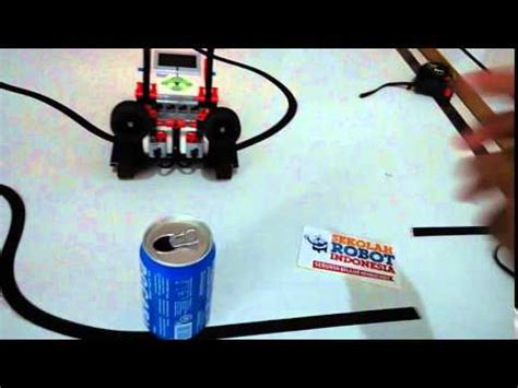 membuat robot gripper simple gripper lego ev3 sekolah robot indonesia youtube
