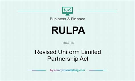 What Does Mba Stand For Slang by Limited Partnership Act 2001