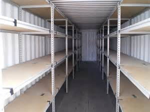 storage container shelving shipping container storage shelving gateway containers