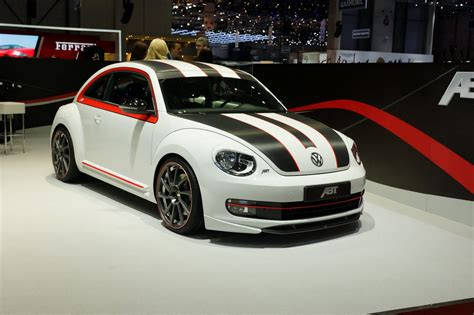 vw beetle tuned by abt speedle debuts nordschleife