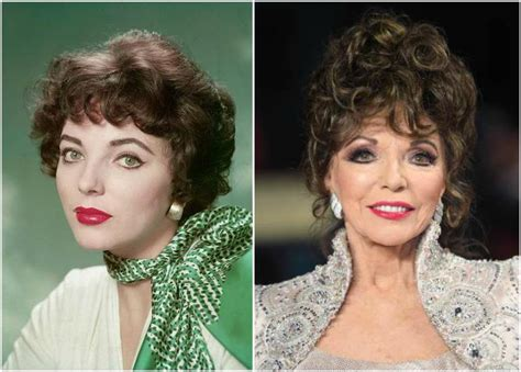 collins eye color joan collins height weight 83 years is not an obstacle