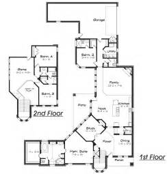 C Shaped House Floor Plan House Plans C Shaped Home Plans