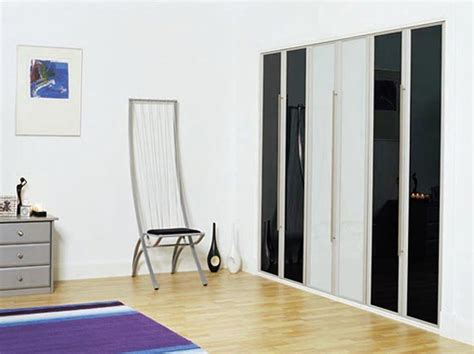 Bifold Closet Doors Without Bottom Track Ideas Advices Contemporary Bifold Closet Doors