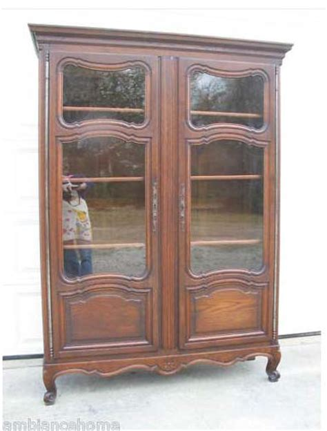 Vintage Display Cabinets For Sale Great Louis Xv Antique Display Cabinet French Oak For Sale