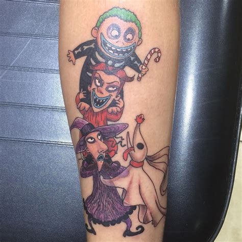 christmas tattoos 75 best nightmare before design ideas 2018