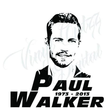 Paul Walker Bike Stickers by Clipart Paul Walker