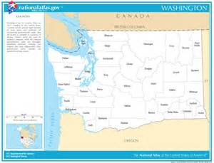 state map with counties and cities washington state maps interactive washington state road