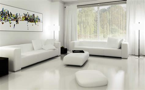 minimalist decorating tips stunning all white living room design all white living
