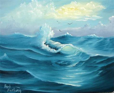 Ready Selang Paintzoom Paintzoom Hose P4 turquoise sea seascape painting painting by barbara furlong