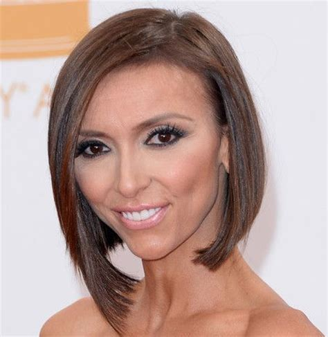 how to get guiliana rancics wavy bob hair giuliana rancic angled bob awards careforhair co uk