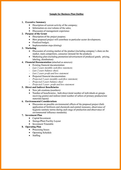 9 business plan layout coaching resume
