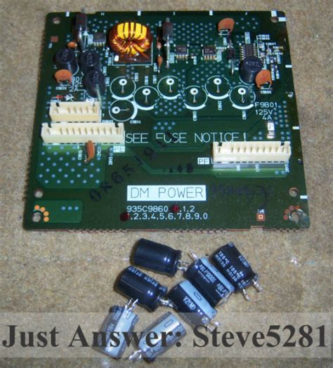 mitsubishi tv bad capacitor mitsubishi tv capacitor problem 28 images sony tv capacitor replacement 28 images samsung
