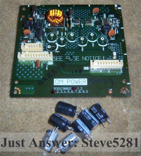 samsung dlp tv capacitor problem mitsubishi tv capacitor problem 28 images sony tv capacitor replacement 28 images samsung
