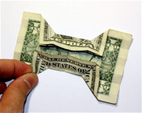 Origami Bow Tie Dollar Bill - origami n stuff 4 origami dollar bill bow tie