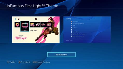 ps4 themes infamous infamous first light t 233 l 233 charger un th 232 me ps4 personnalis 233