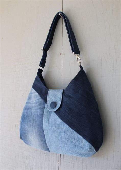 Denim Patchwork Bag - best 25 denim patchwork ideas on