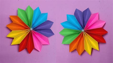 how to make color how to make paper roses with construction paper step by