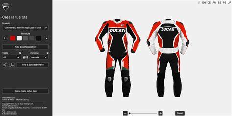 Motorradkombi Ducati by Ducati Webseite F 252 R Individuelle Motorradkombi Magazin