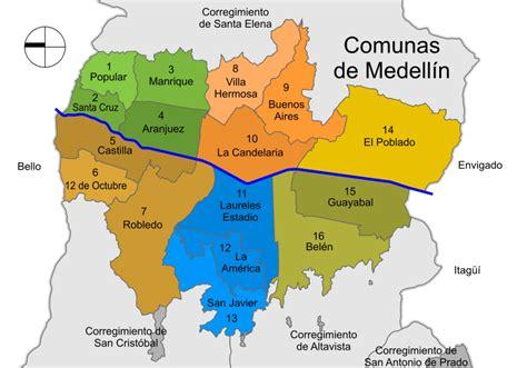medellin map medellin colombia dignified neighborhoods paisa pride