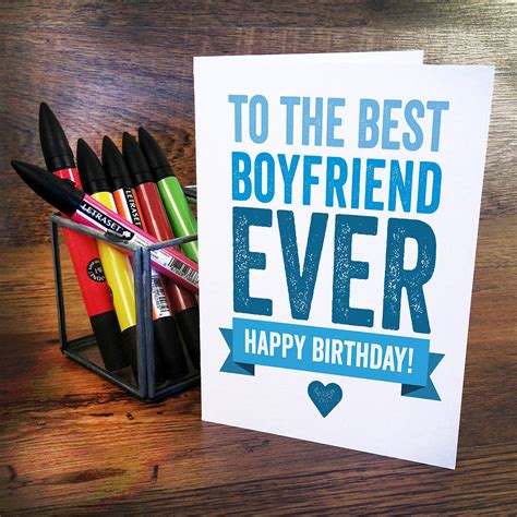 happy birthday boyfriend by a is for alphabet