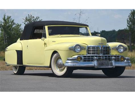 lincoln continental 1946 1946 lincoln continental information and photos momentcar