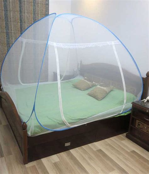 bed nets healthgenie double bed mosquito net blue buy