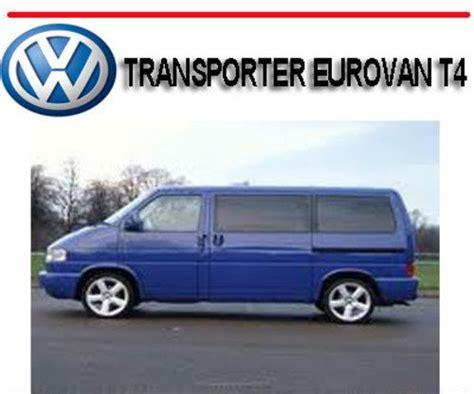 service and repair manuals 1997 volkswagen eurovan user handbook vw transporter workshop and repair manuals autos post