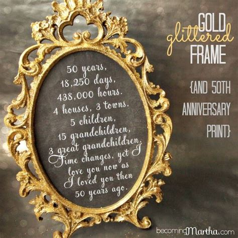 wedding anniversary gift ideas on a budget 50th anniversary anniversary and 50th anniversary on