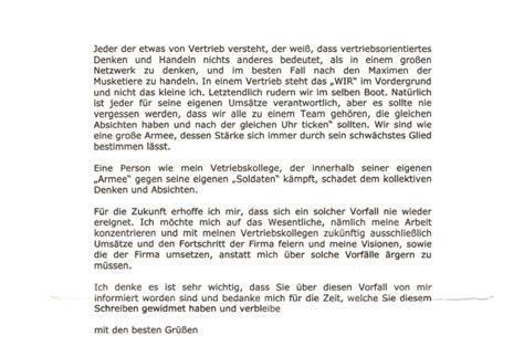 Musterbrief Beschwerde An Den Betriebsrat Offener Brief An Die Firma Die Mich Zum Opfer Rassismus Machte