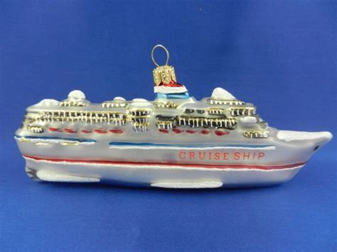 cruise ship ornament cruise ship ornament shop collectibles daily